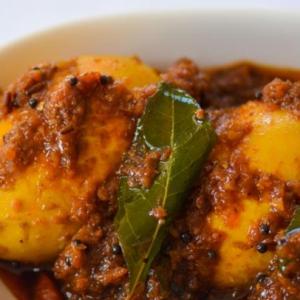 Hyderabadi Egg Masala
