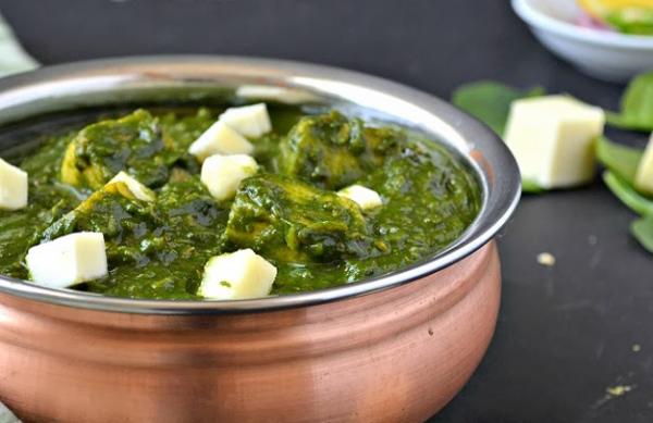 Palak Paneer(spinach)